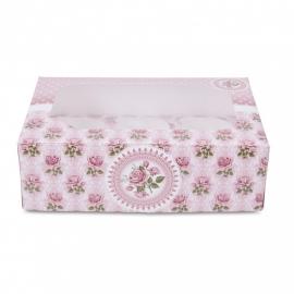 Rozentuin cupcake box (set 2 st)