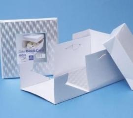 PME taardoos 25 x 25 x 15 (hoog) cm + board vierkant (3 mm)