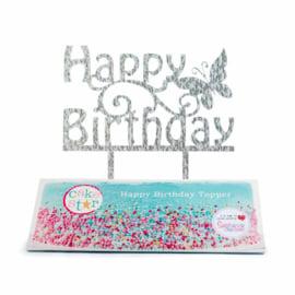 Happy Birthday Cake Topper (Cake Star)