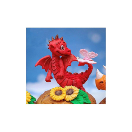 Katy Sue Little Dragon 3D silicone mould