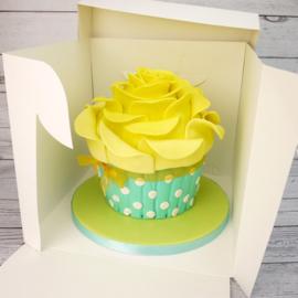 Boîte à gâteau extra haute 28 x 28 x 25 cm par 10 Pcs