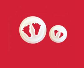 FMM Baby Feet Ausstecher (Babyfüsse) set 2 st.