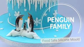 Penguin Family by Katy Sue (silicone mal)