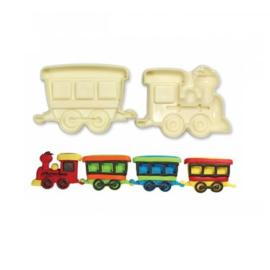 JEM Trein/Wagon pop it mould