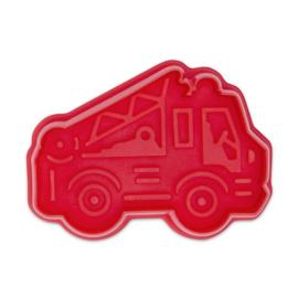 Städter plunger/cutter brandweerauto -  6.5 cm