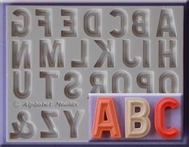 Bevelled Font hoofdletters