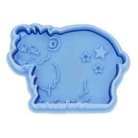 Städter plunger/cutter ijsbeer -  6.0 cm