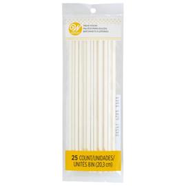 Cake pop sticks long 20.3 cm - 25 st
