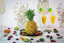Tropical Pineapple (ananas) by Karen Davies