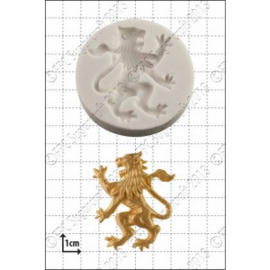 Rampant Lion (left) - Klauwende Leeuw silicone mould