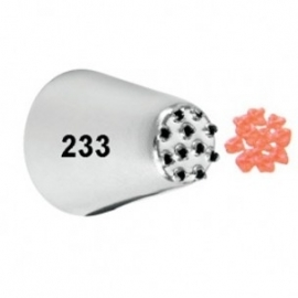 Wilton icing tip #233 Multi open carded