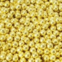 Suikerparels Metallic goud