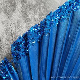 Palm Royal Blue Glitter