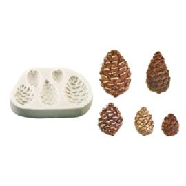 FPC Pijnappel silicone mould (5 afbeeldingen)