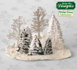 Fir Trees Silhouettes mould by Katy Sue