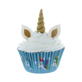 Sweet Unicorn decoration - 8 x  3 st (eetbare decoratie)