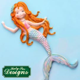 Mermaid silicone mould (Katy Sue Design)