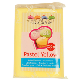 Rolled fondant Pastel Yellow 250 gr
