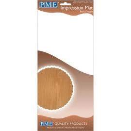 PME Impression mat Wood