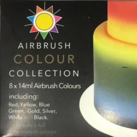 Sugarflair Airbrush Colour Collection 8 x 14 ml
