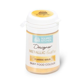 Squires Kitchen Metallic lustre Classic Gold 5 gr