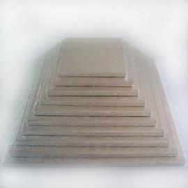 Cake drum carré 22.5 cm par 5 pcs