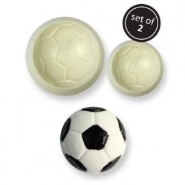 Voetbal mould Pop It set 2 st