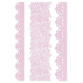 Kitchen Kraft Lace mat 16 Bloemmotief 40 x 27 cm