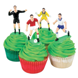 PME voetbal decoratie 9 st