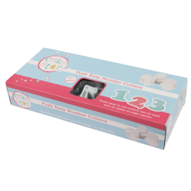 Cake Star Push easy number cutters-10 st