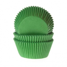 Cake cups  GRASGROEN  House of Marie 50 st
