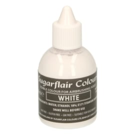 Sugarflair White Airbrush - 60 ml
