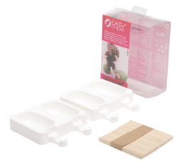 Ice Cream mini classic mould silikomart met  50 ijsstokjes