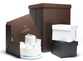 Boîte à gâteau Jumbo Noir 50 x 50 x 70 cm