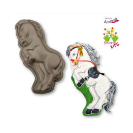 Paard Silver Star 3D bakpan