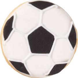 Fussball Ausstecher Metall 4.5 cm
