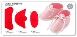 JEM 3D babyschoentje life size