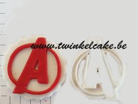 Avenger (Superheroes) logo cutter