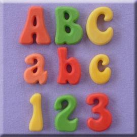 Fun Font full set (alfabet + cijfers)