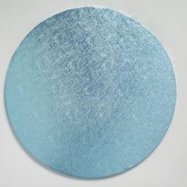 Tortenplatten Hellblau Rund 30 cm (cake drum)