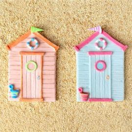 Beach Hut silicone mould (Katy Sue Designs)