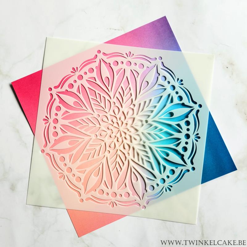 Stencil Mandala #2