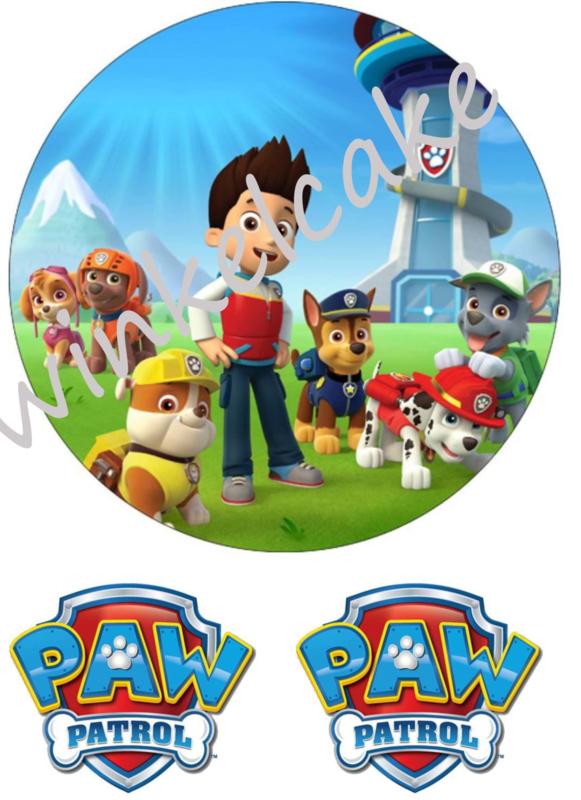 Imprimé comestible Pat Patrouille 4