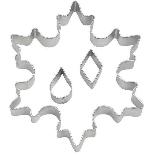 Snowflake Wilton set 3 st