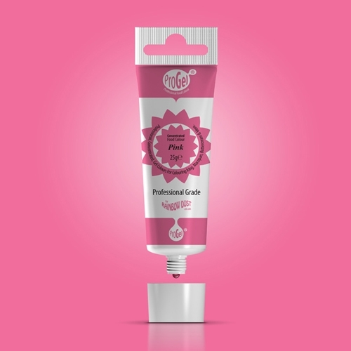 Progel kleurstof Pink 10 x 25 gr