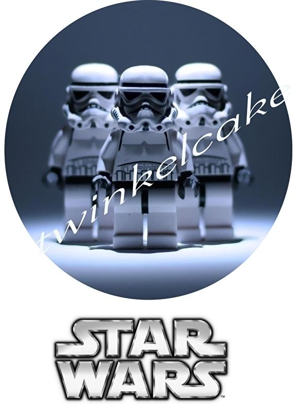 Taartprint lego star wars 2