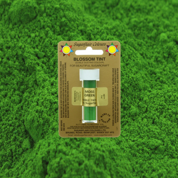 Sugarflair Dusting Colour Moss Green 7 ml