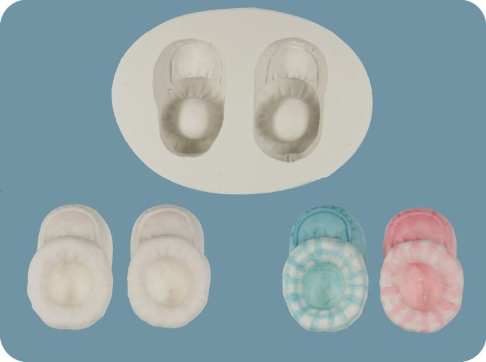 FPC Baby Bootees 3D