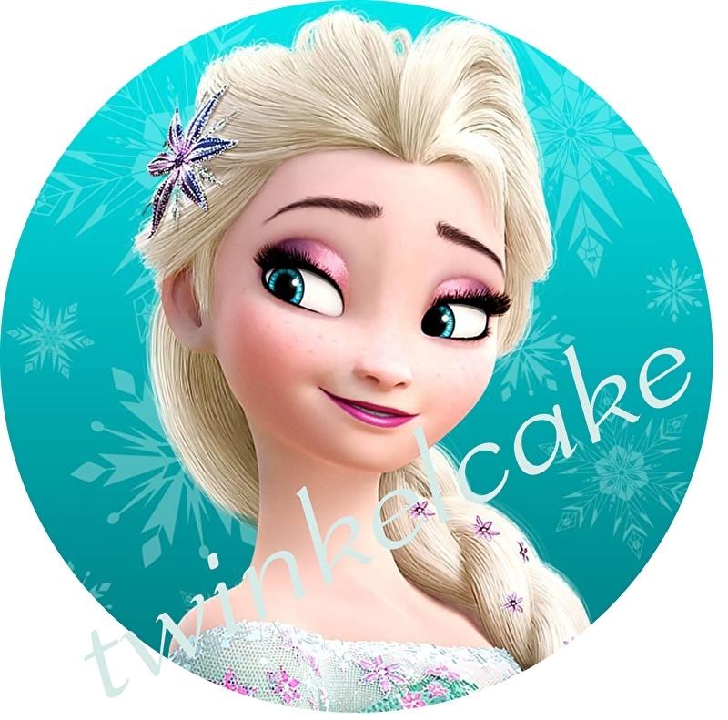 Taartprint Elsa 4