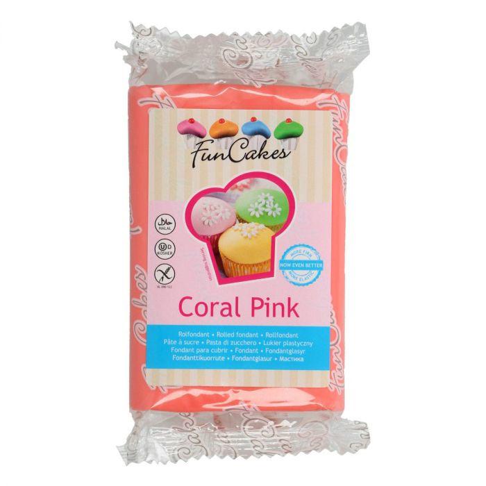 Suikerpasta Coral Pink 250 gr
